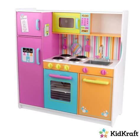 kidkraft grande cuisine enfant couleurs vives achat