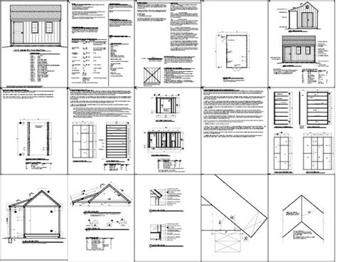 shed plans vip tag10 x 16 shed plans vip