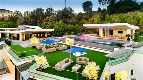 $100,000,000 Modern Contemporary Bel Air Mega Mansion