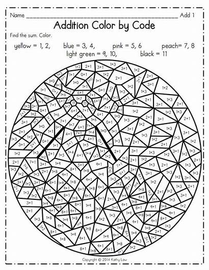 Number Addition Pdf Multiplication Coloring Pages Sheets