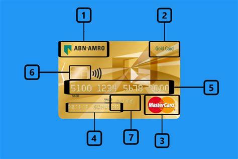 creditcard anatomie dit zit op en aan je creditcard gids