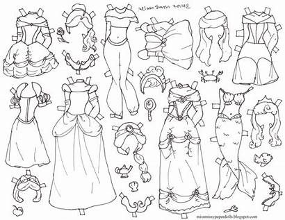 Paper Halloween Doll Disney Dolls Princess Coloring