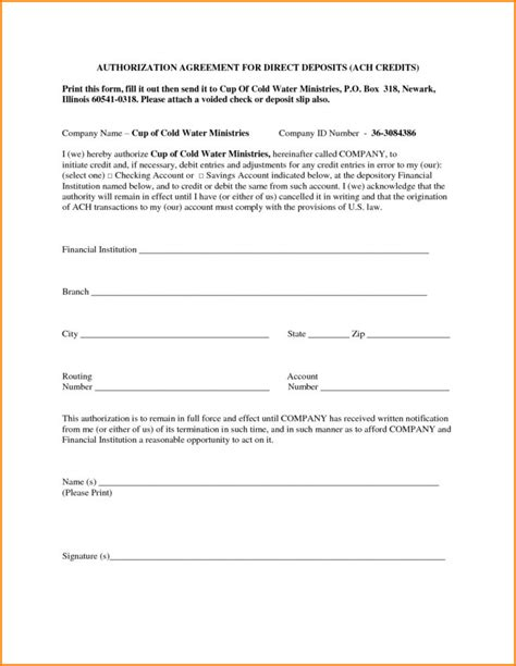 ach authorization form template sle w2 tax form form resume exles wla0ebdgvk