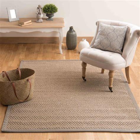 alfombra living sisal 230 x beige gevlochten sisal tapijt 160 x 230 cm bastide