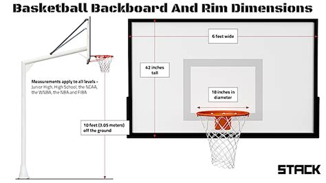 basketball court dimensions  hoop height  quick guide