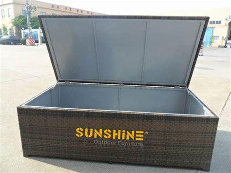 rattan cushion box outdoor furniture modern rattan