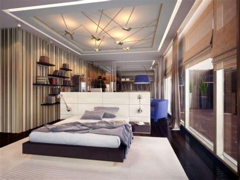 faux plafond chambre à coucher decoration placoplatre magasin