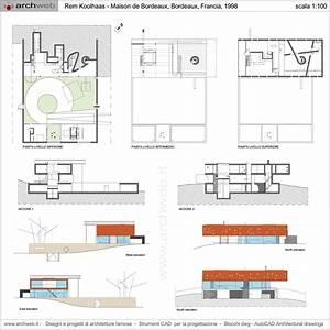 bordeaux house koolhaas dwg drawings arc pinterest With lovely plan de maison design 2 morgan petrovich maison a bordeaux