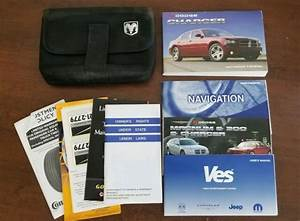 2007 Dodge Charger Owners Manual W   Navigation Manual