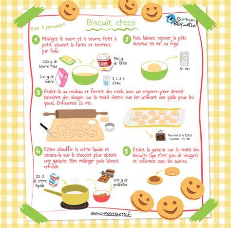 recettes de cuisine 3 recette biscuits maison au chocolat