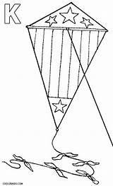 Kite Coloring Pages Drawing Printable Cool2bkids Getdrawings sketch template