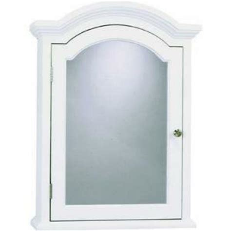 Arched Medicine Cabinet by Zenith Products Mc40ww White Colonial Arched Medicine