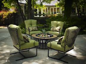 Conversation Patio Sets Fire Pit Gallery