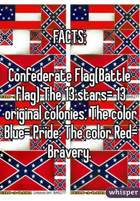 confederate flag colors facts confederate flag battle flag the 13 13