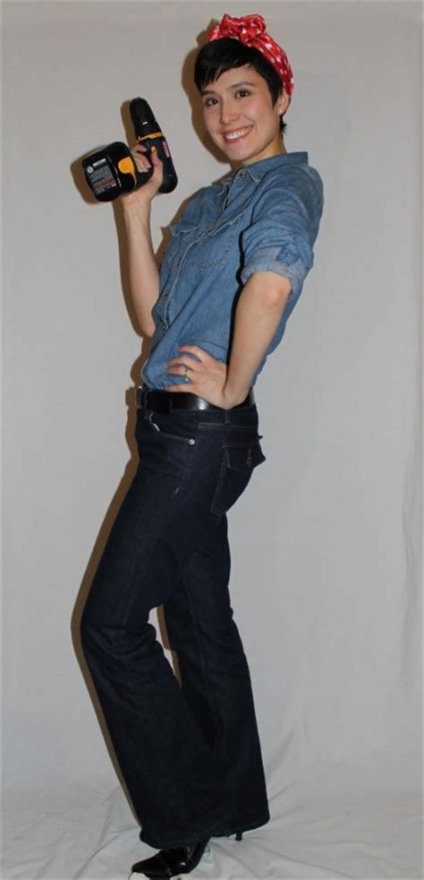 Costumes In Your Closet Ideas by Costumes From Your Closet Rosie The Riveter