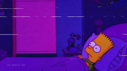 Bart Sad Simpson Purple Hearts Sometimes Seems