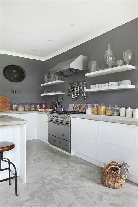 cuisines blanches et grises 17 meilleures idées à propos de peinture grise sur