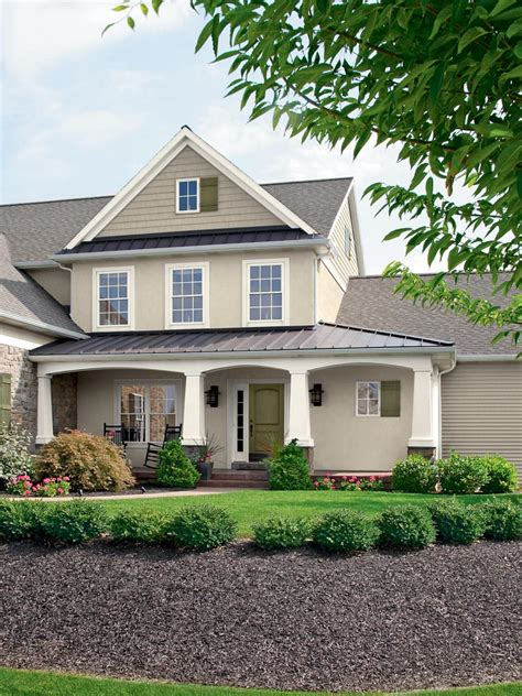 Neutral Exterior House Color Schemes  Deentight