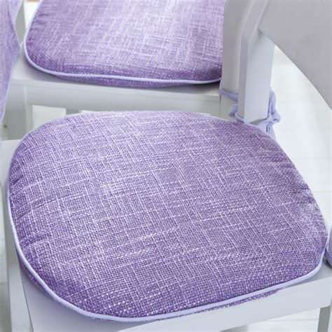 get cheap purple chair cushions kitchen chairs