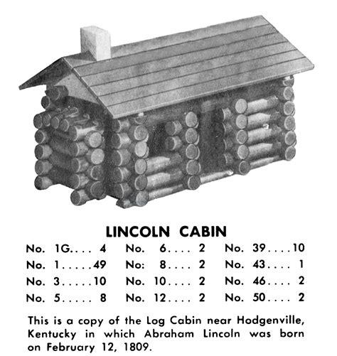 Lincoln Logs Construction Sets