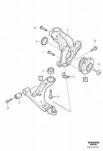 Volvo Xc40 Sems Screw  Suspension  Rear  Erad