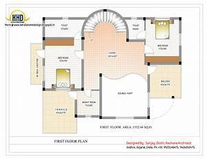 Duplex House Plan Elevation Kerala Home Design Home