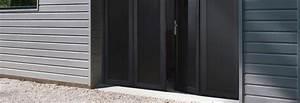 Lapeyre Porte De Garage : les portes de garage pliantes ~ Melissatoandfro.com Idées de Décoration