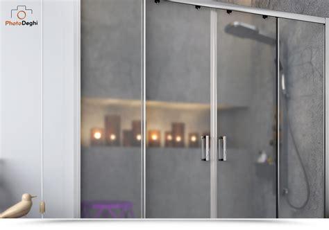 Porta Cristallo Doccia by Porta Doccia Nicchia 170 Cristallo Opaco Ideale Per