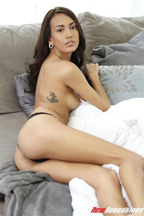 Janice Griffith Sexy In Black