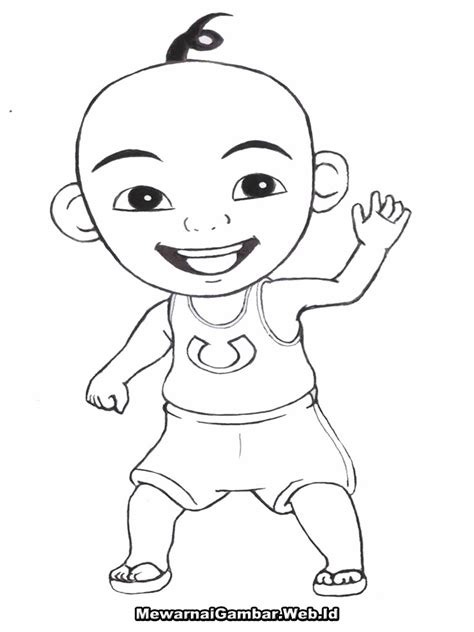 coloring pages upin  ipin coloring pages