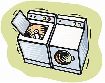 Dryer Washer Vector Clip Washing Machine Laundry