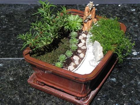Zen Garten Miniatur by Miniature Zen Garden Miniatures Miniature