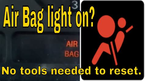 reset ford mustang airbag light youtube