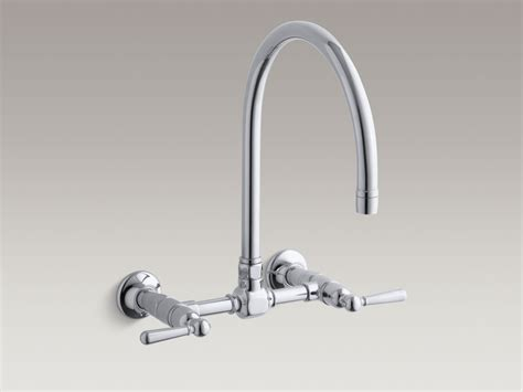 Wall Mount Kitchen Sink Faucet Single Handle