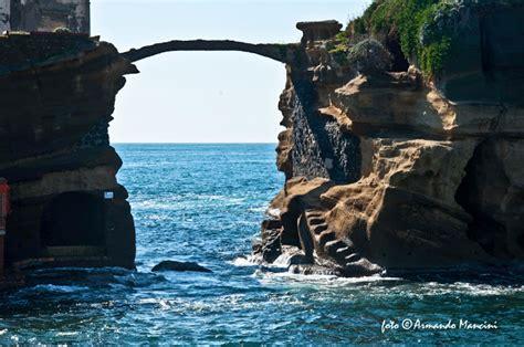 Beautiful World Gaiola Bridge Naples Italy