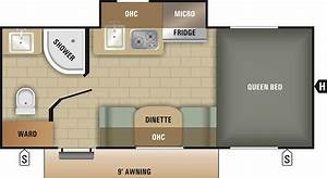 Travel Trailer Floor Plan