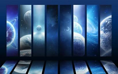 Space Panels Planet Desktop Wallpapers Mobile Backgrounds