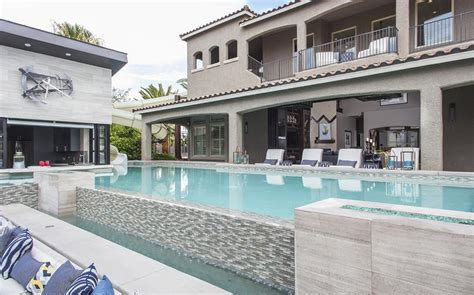 property brothers house the pool and movie theatre behind the scenes w network
