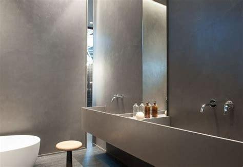 pitture per bagni foto bagno pareti in cemento resina spatolato finitura
