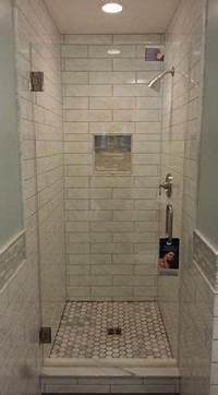 "shower stall design ideas Again no ""oh shit"" bar. Maybe in a shower this small you ..."