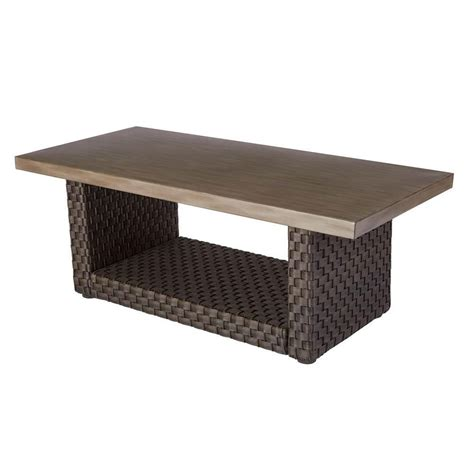 Marbella aluminum rectangular coffee table 50+ Round Table Moreno Valley - Contemporary Modern Furniture Check more at http://www.nikkitsf ...