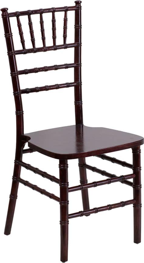 Mahogany Chiavari Chair Hire by Table Chair Rentals Alpine Center