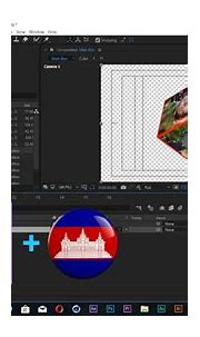 After Effects Khmer Tutorial   How to create 3D box or ...
