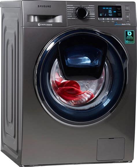 samsung waschmaschine 8 kg samsung waschmaschine ww80k6404qx eg a 8 kg 1400 u