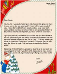 Letters from santa for Naughty letter from santa for adults