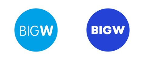 Red And Black Pictures Brand New New Logo For Big W