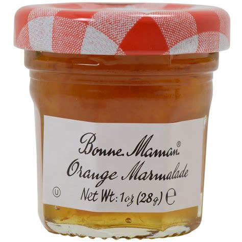 cuisine maman bonne maman orange marmalade mini jars buy at gourmet