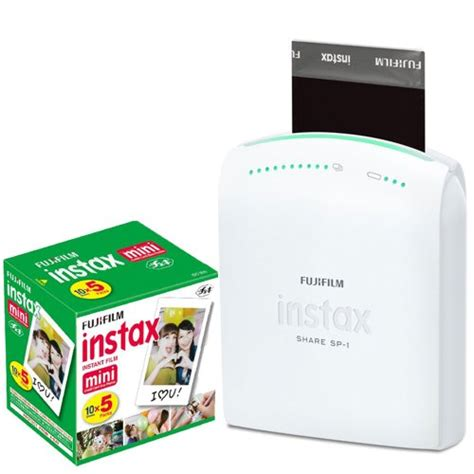 smartphone polaroid printer fujifilm instax smartphone portable printer sp 1