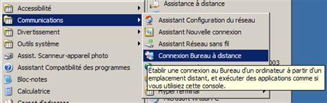 bureau distant bureau à distance ou remote desktop contrôle à distance