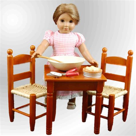 american doll kitchen table the s treasures country kitchen dining table 2
